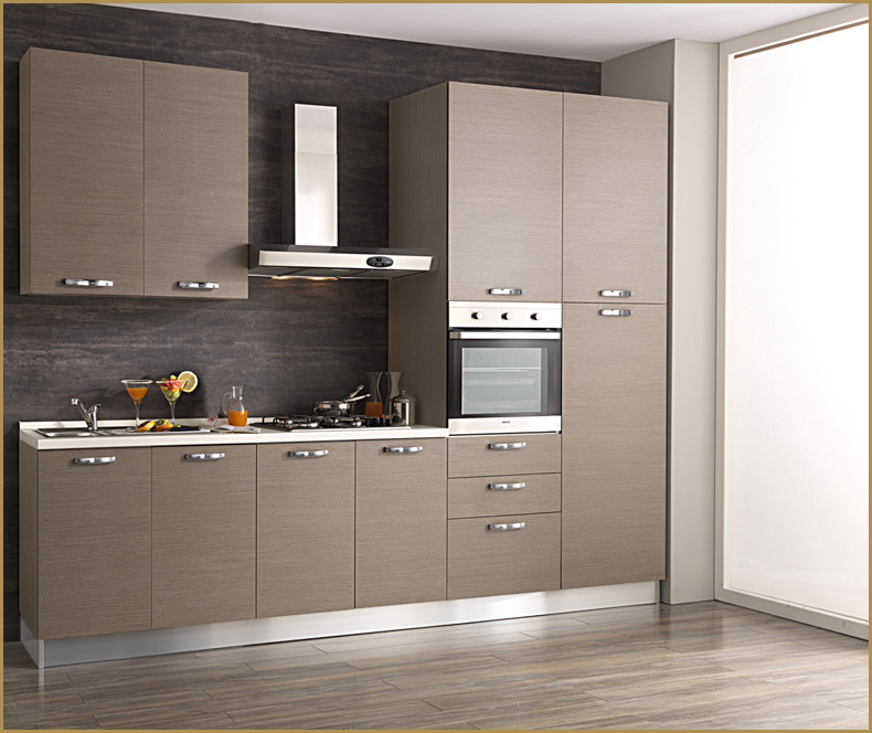 Cucina componibile 3 mt completa di elettrodomestici - Cucine componibili in kit di montaggio prezzo ...