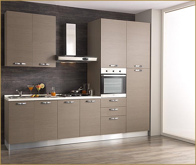 Cucina componibile 3 mt completa di elettrodomestici, moderna 3buek4d8 (Cucine complete e ...