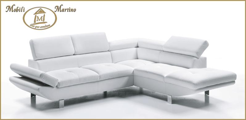Beautiful Divano Ecopelle Bianco Contemporary - Acomo.us - acomo.us