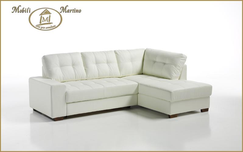 Divano letto angolare moderno in ecopelle angolo salotto soggiorno contenitore 3buzffna casa - Divano letto angolare divani e divani ...