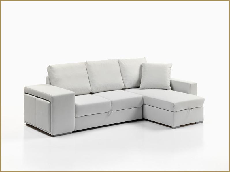 Divano letto angolare moderno con contenitore salotto for Divano angolare usato