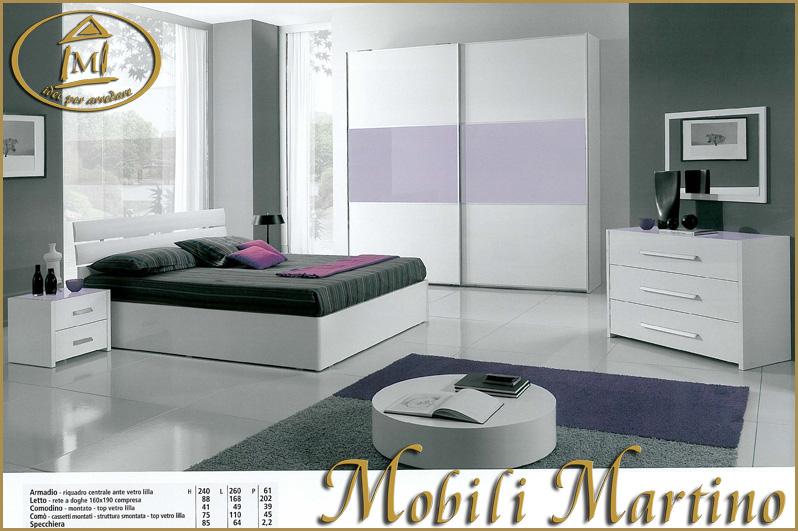 Camera da letto bianca e lilla smart camera bianca e - Pittura camera da letto lilla ...
