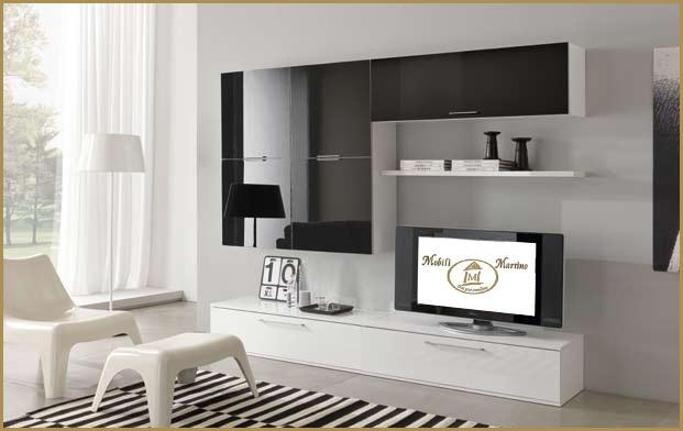 Beautiful Parete Colorata Soggiorno Gallery - House Design Ideas ...