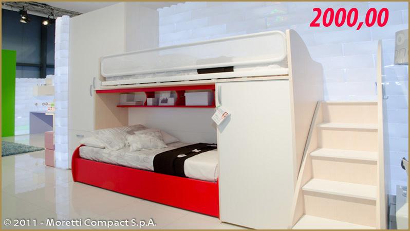Letti A Castello Per Bambini Economici : Mobili per camerette piccole. asta mobili camere da letto classiche