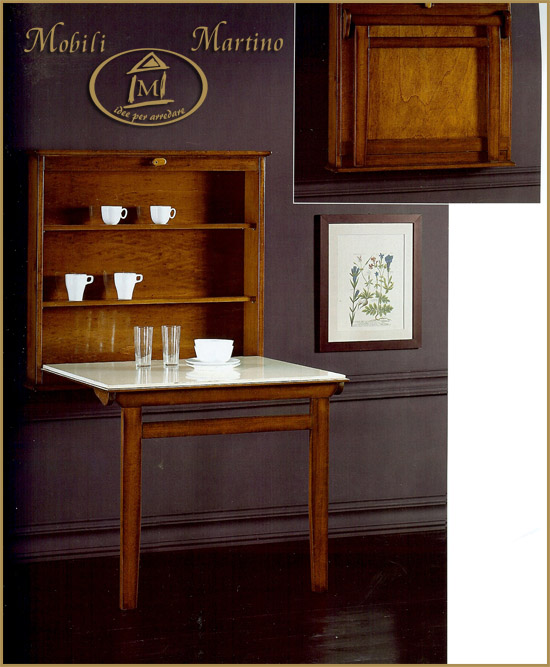 Tavolo cucina salvaspazio idee di design nella vostra casa - Tavolo a muro cucina ...